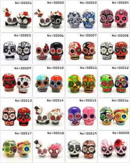 Wedding Cake Toppers Skull Day of the Dead Gothic Theme Handmade Gifts