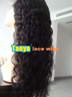 20 Deep wave Full Lace Wig India Remy Human Hair ◆◆