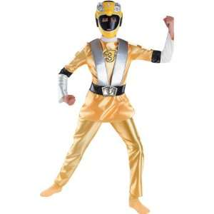 Deluxe Muscle RPM Yellow Kids Power Rangers Costume Toys & Games