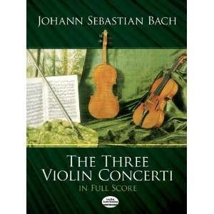Scores) (9780486251240): Johann Sebastian Bach, Music Scores: Books