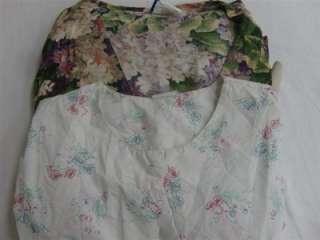 Medical Dental Vet Scrub Lot 8 Long Sleeve Jackets Coats Medium Med M