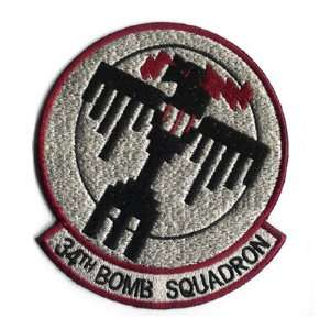 34TH BOMB SQUADRON 5 Patch
