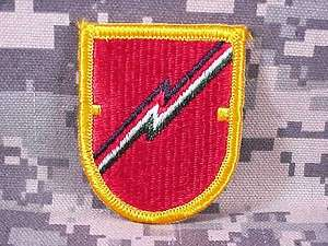 Flash & Oval Set, 1st Field Artillery Detachment