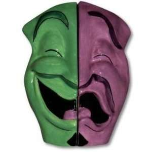 Mardis Gras Comedy & Tragedy Masks Salt and Pepper Shaker