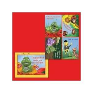 Hermie & Friends Valentine Cards for Kids with Scripture   Package of