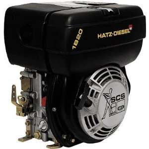 Hatz Diesel Engine with Electric Start   4.6 HP, 3/4in. x