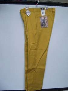 DICKIES Mens Work Pant in Gold/Mustard color New w/Tags 11000331 334