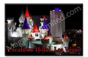 Excalibur Casino Hotel Las Vegas LV Souvenir Magnet #1