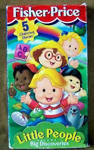 Little People, Big Discoveries, Volume 1 (VHS,1999) 075380727991