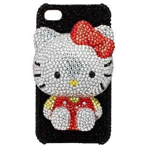Rhinestone Detailed Hello Kitty iPhone Case Cell Phones & Accessories