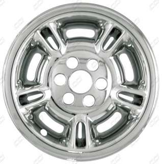 98 99 1999 DODGE DURANGO CHROME WHEEL SKINS HUBCAPS