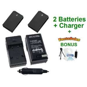 2 Pack Nikon EN EL20 High Capacity Replacement Batteries