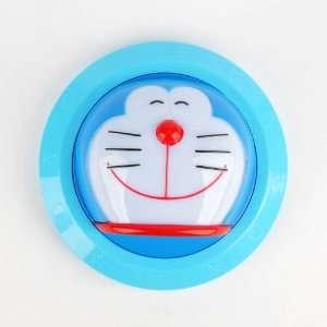 Doraemon Head Shaped Wall Led Lighting Lamp Blue: Home