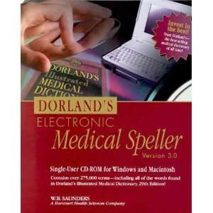 Dorlands Electronic Medical Speller, CD ROM, 3e