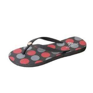 Nomad W8389Y Black/Red Womens Dots Sandal Baby