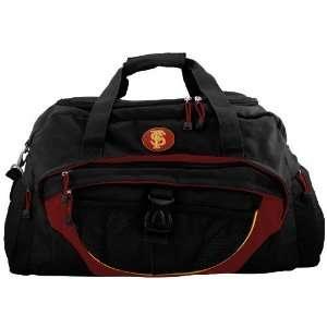 Florida State Seminoles (FSU) Black Duffle Bag Sports