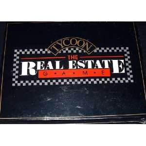 Tycoon The Real Estate Game (Board Game) Ram Innovations