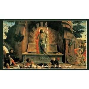 Easter Christ is Risen Holy Prayer Card