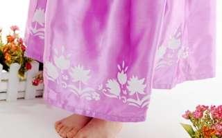 Princess TANGLED RAPUNZEL COSTUME Girls Dresses w/o Wig Size 3 10T