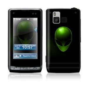 LG Dare VX9700 Skin Sticker Decal Cover   Alien X File