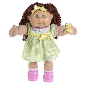 Cabbage Patch Kids 16 Doll Red Haired Girl in Green