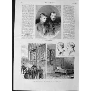 1889 Duke Russia Princess Greece Murder Cronin Chicago