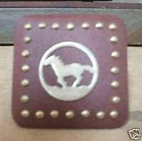 Western Decor Rustic Metal Running Horse Drawer Knob