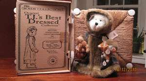 boyds bears T.J. s best dressed collection fern woods