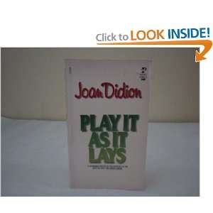 Play It As It Lays (9780671420963) Joan didion Books