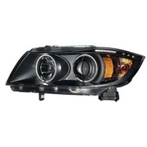 Halo Headlight with LED Bar for BMW 3 Series E90 E91   (Sold in Pairs