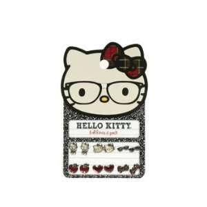 Earring Pack   Sanrio   Hello Kitty Nerd Set 6