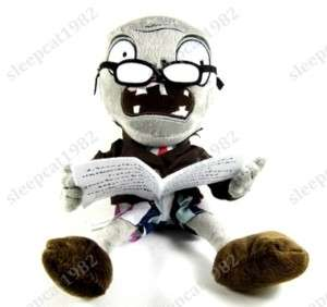 Plants Vs Zombies PVZ NEWSPAPER Stuffed Plush Soft Toy