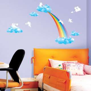 KID Adhesive Removable Home Wall Decor Accents Stickers Decals