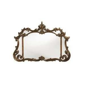 Inverness Rectangular Antique Copper with Black Accents Mirror