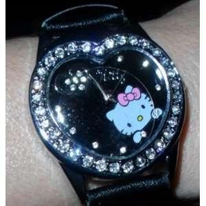 Hello Kitty Elegant Style ladies girl watch   Black Arts