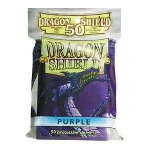 Dragon Shield Card Supplies STANDARD Card Sleeves Purple