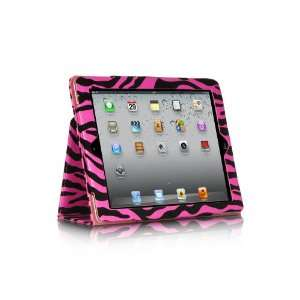 Luxmo Fitted Pleather Case w/ Stand for Apple iPad 2 & iPad