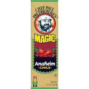Chef Paul Prudhommes Magic Seasoning Blends ~ Anaheim Ground Dried