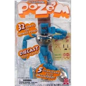 Titanium Pozem Blue 6 Figure: Toys & Games