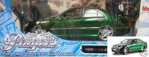 MAISTO MERCEDES BENZ S 55 AMG 1/18 PLAYERZ GREEN 31051