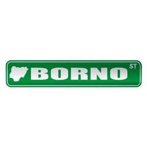 BORNO ST  STREET SIGN CITY NIGERIA: Home Improvement