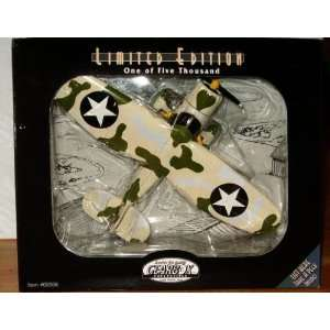 Die Cast Airplane Stinson Reliant U.S. Army Air Corps Bank
