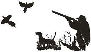 Pheasant Hunt 4 Decal Bird Hunting Window Sticker 6