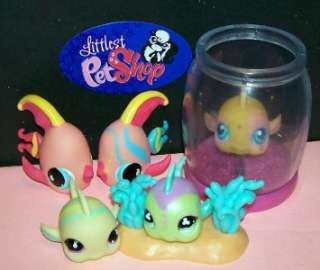 Littlest Pet Shop~FISH/ANGEL FISH LOT~#10 Goldfish~G10