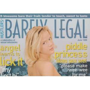 Magazine June 1999 Editors of Hustlers Barely Legal Magazine Books