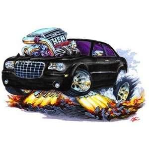 24 *Firebreather* 2005 300 hemi cartoon Car Wall Graphic Color Decal