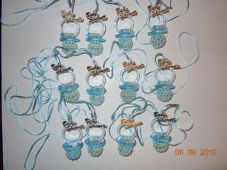 Baby Shower PACIFIERS Blue Party Favors Decorations