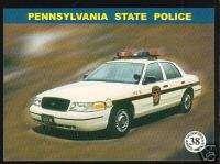 PENNSYLVANIA STATE POLICE HIGHWAY PATROL TROOPERS Card