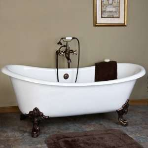 Tub (Oil Rubbed Bronze Monarch Feet / No Tap Holes)