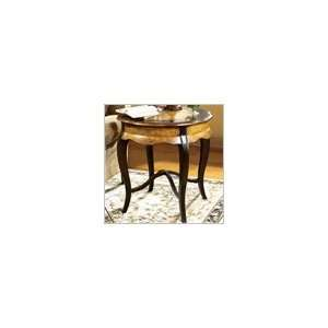 Originals Round Wood End Table in Coffee Finish Furniture & Decor